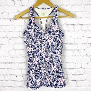 LILLY PULITZER Luxletic Workout Top XS